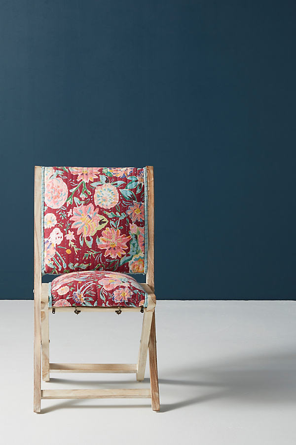 Emma Terai Chair - Purple