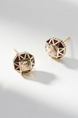 mini-tempest-post-earrings by anthropologie