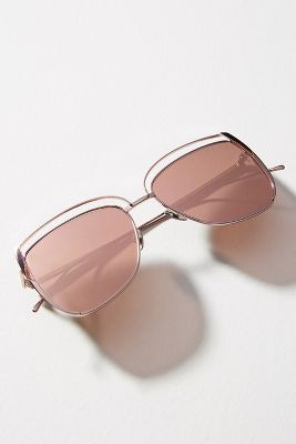 Poppy Square Cat Eye Sunglasses by Sunday Somewhere