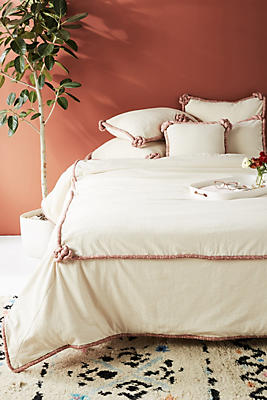 Slide View: 1: Knotted Alden Duvet Cover