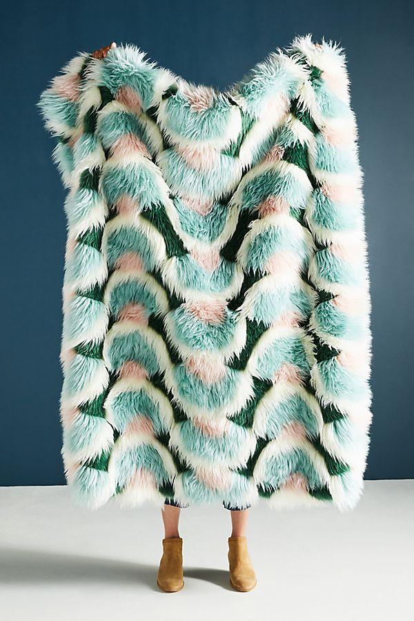 Juniper Faux Fur Throw Blanket