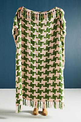 Slide View: 1: Zuri Knit Throw Blanket