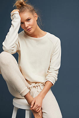 Slide View: 1: Lady & The Sailor Ballet Drawstring Pullover