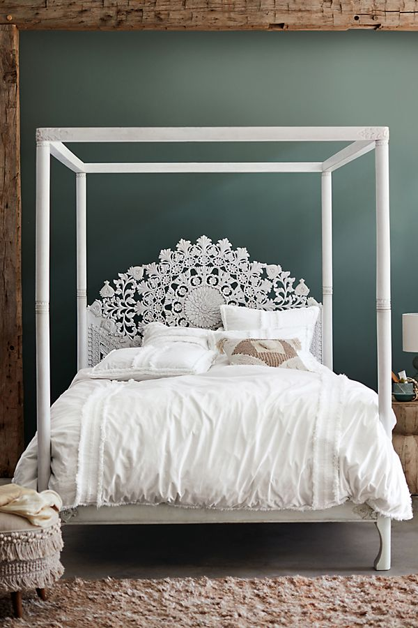 Suzani Four-Poster Bed | Anthropologie