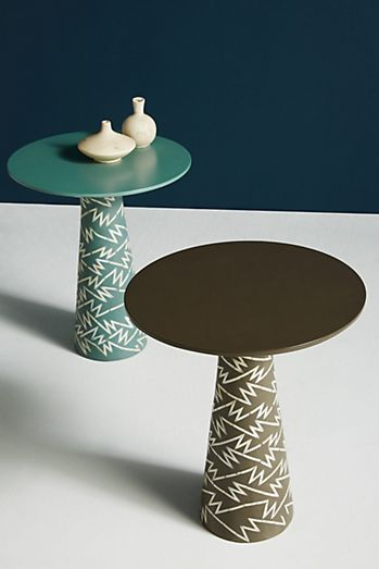 strike collection side table - Unique Side Tables