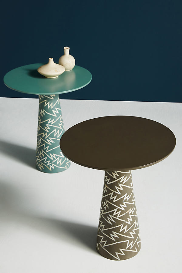 Bethan Gray Strike Collection Side Table - Mint