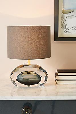 Slide View: 1: Mara Faceted Lamp Ensemble