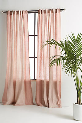 Slide View: 1: Dyed Shibori Curtain