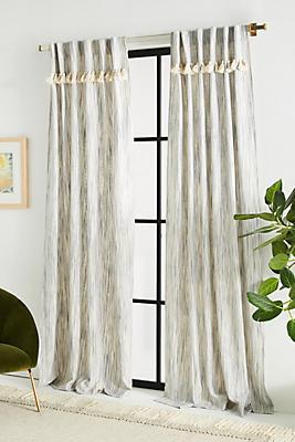 Slide View: 1: Tasseled Sadie Curtain
