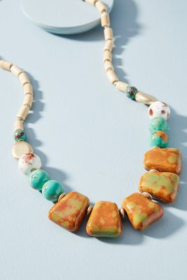 Hattie Necklace  -    TURQUOISE