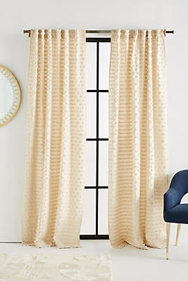 Slide View: 1: Textured Mareika Curtain