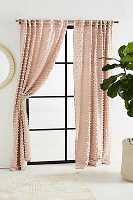 Slide View: 1: Textured Mareika Curtain