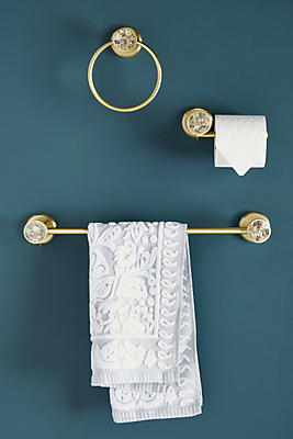 Slide View: 4: Abalone Towel Rod