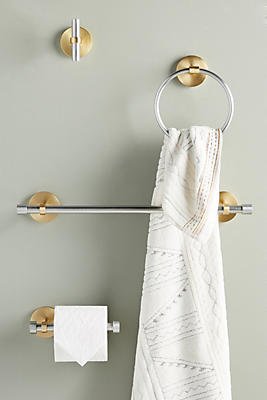 Slide View: 3: Villa Towel Rod