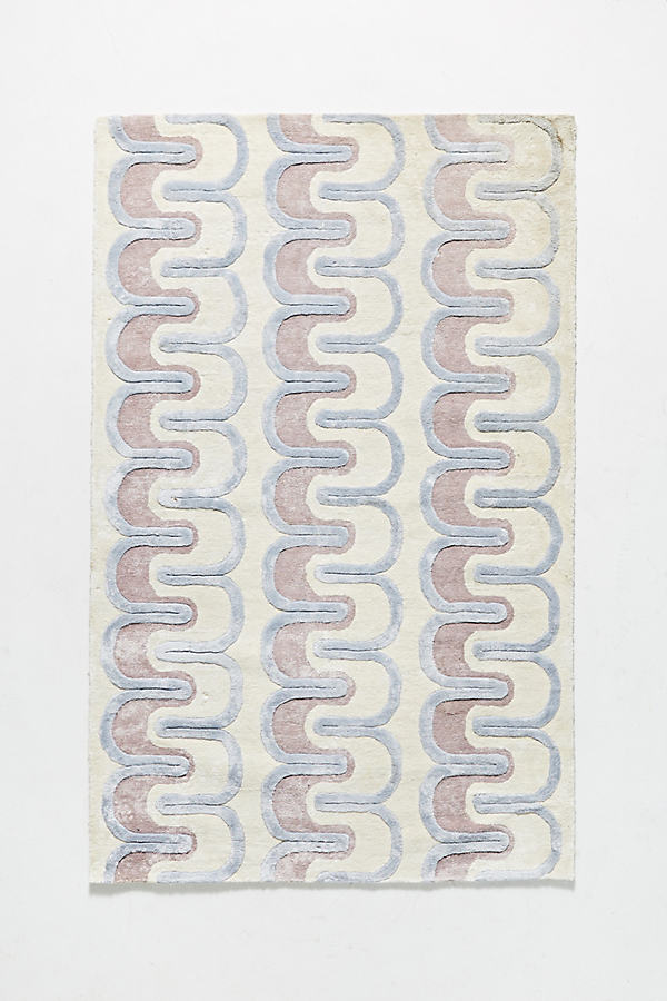 Meara Viscose Rug - Assorted, Size 5X8