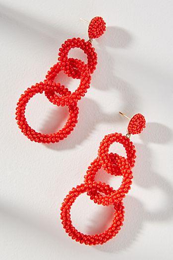 Lyla Beaded Drop Earrings