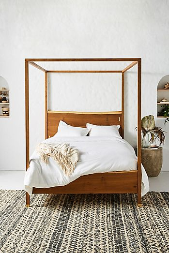 Prana Live Edge Four Poster Bed