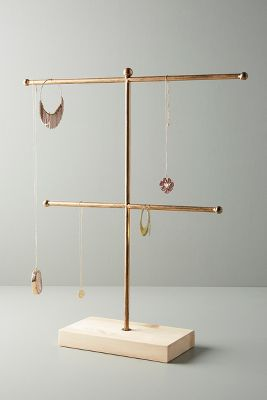 Two Tiered Jewelry Stand by Anthropologie