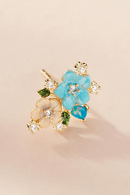Anthropologie Beautiful Bouquet Post Earrings u8M5uzsT
