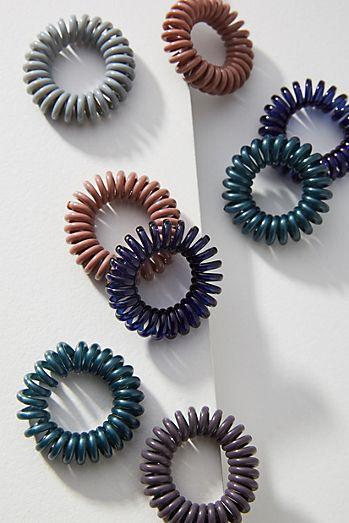 Mini Coiled Hair Tie Set 28e33fd51c8