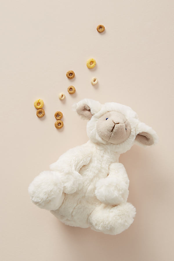 Louie the Lamb Plush Toy - Beige