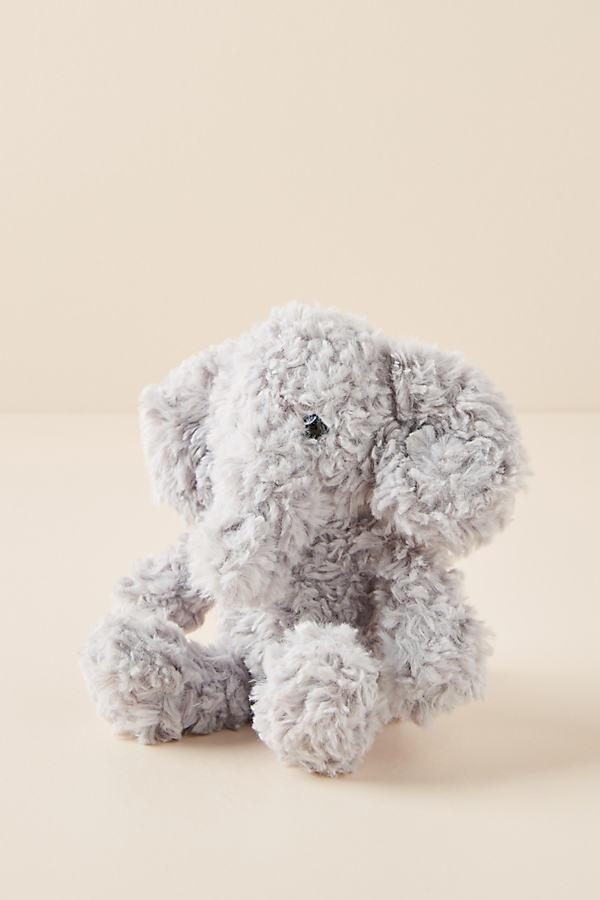 Ellis the Elephant Plush Toy - Grey