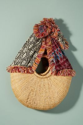 Sam Edelman   Adira Straw Tote Bag  -    SKY