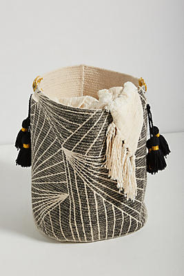 Slide View: 1: Handmade Aria Basket