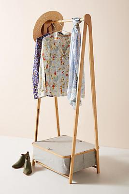 Slide View: 1: Alfa Folding Garment Rack