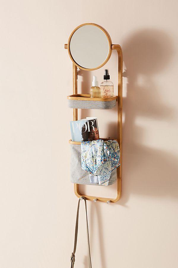 Vanity Storage Wall Shelf   Anthropologie