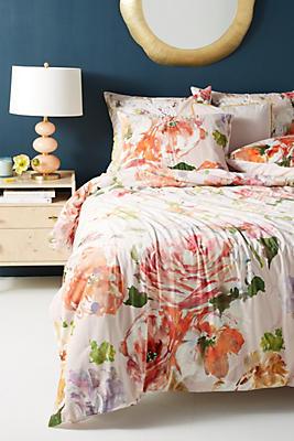 Slide View: 1: Helen Dealtry Velvet Garden Quilt
