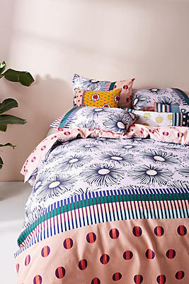 Slide View: 1: SUNO for Anthropologie Norterra Duvet Cover