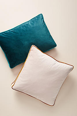 Slide View: 1: Velvet Thelma Pillow