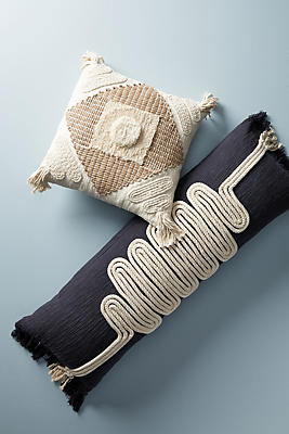 Slide View: 1: Textured Naylei Pillow