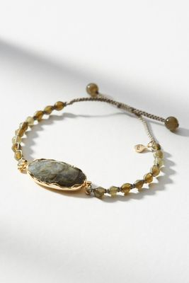 Anthropologie Coloma Stone Bracelet GPtP4of18