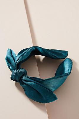 Slide View: 1: Satin Knot Headband