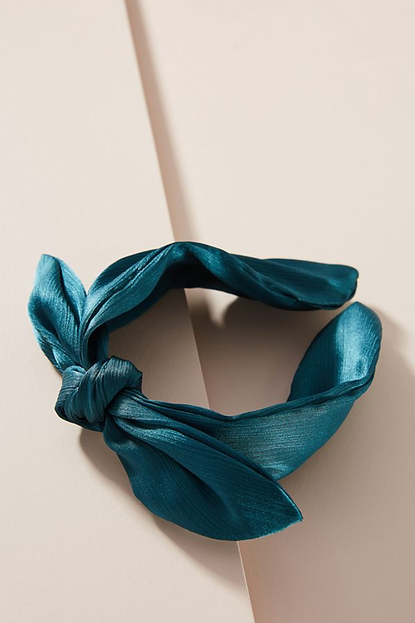 Slide View: 1: Satin Knot Headband