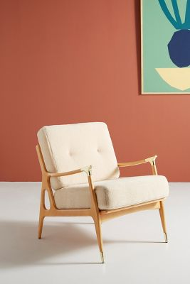 Wool Haverhill Chair by Anthropologie