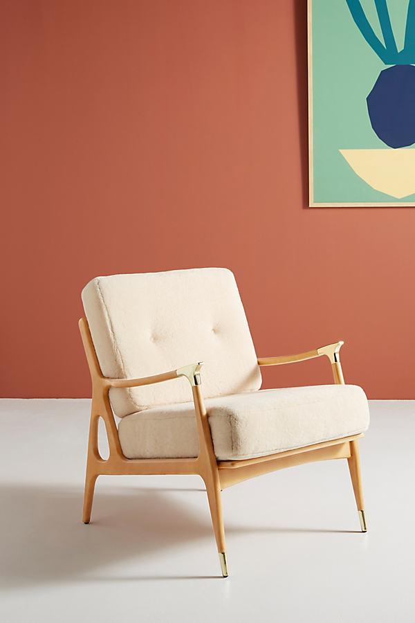 Wool Haverhill Chair - Beige