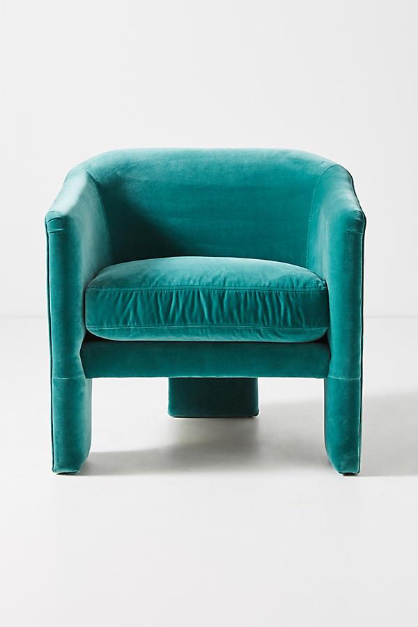 Effie Tripod Chair - Blue