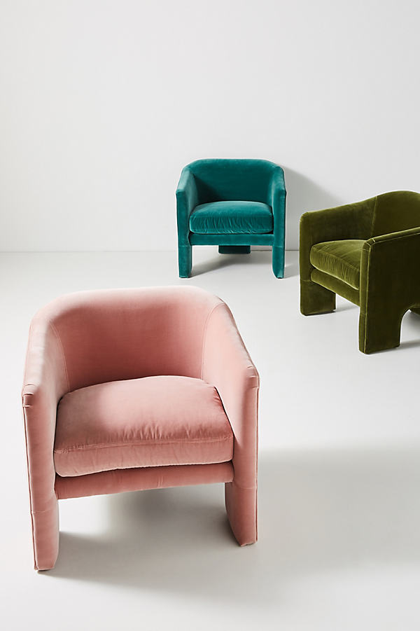 Effie Tripod Chair - Purple