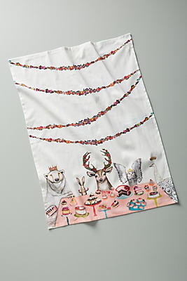 Slide View: 1: Dinner Party Dish Towel