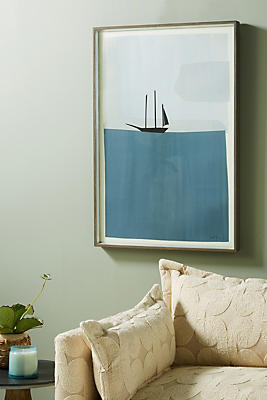 Slide View: 1: Ship Wall Art