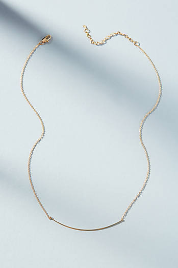 Anthropologie Fanned U-Shaped Pendant Necklace 7znggZ8Rp