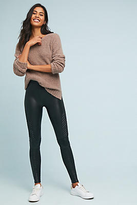 Slide View: 1: Spanx Moto Leggings