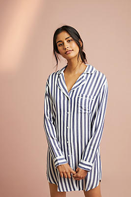 Slide View: 1: Rails Albany Striped Sleep Shirt