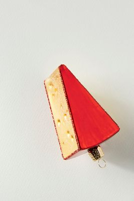 Cheese Wedge Ornament by Anthropologie
