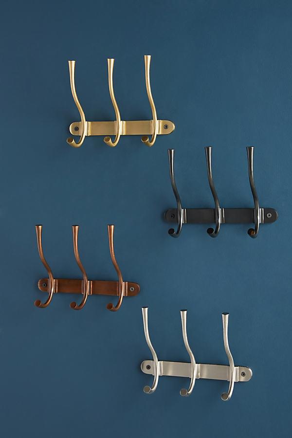 Quinn Hook Rack - Silver, Size Xxl