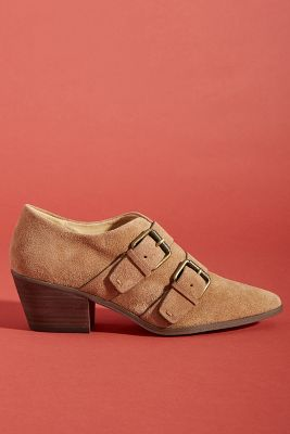 Splendid Carla Buckle Booties by Splendid