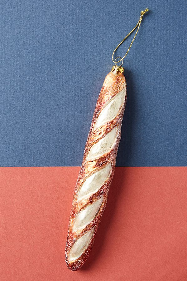 Slide View: 1: French Baguette Ornament